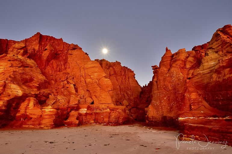 Cape Leveque moonrise
