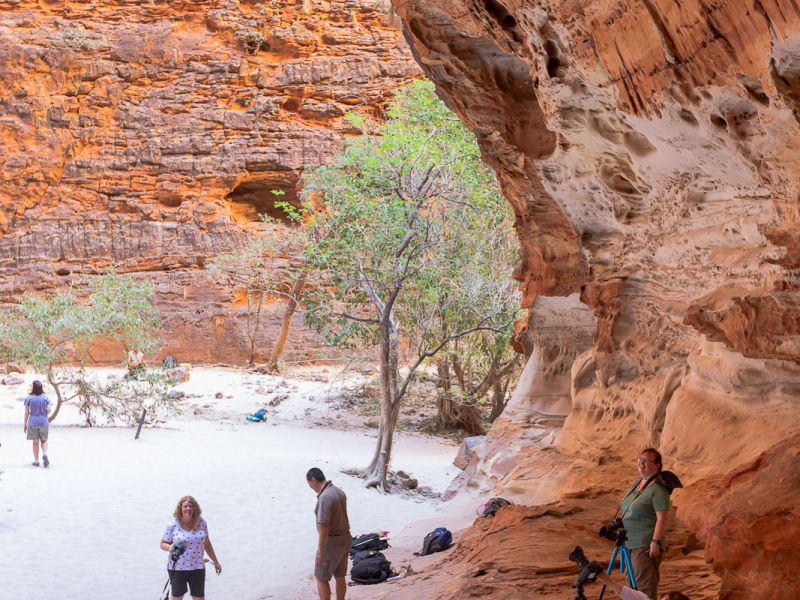 Cathedral Gorge, Bungles