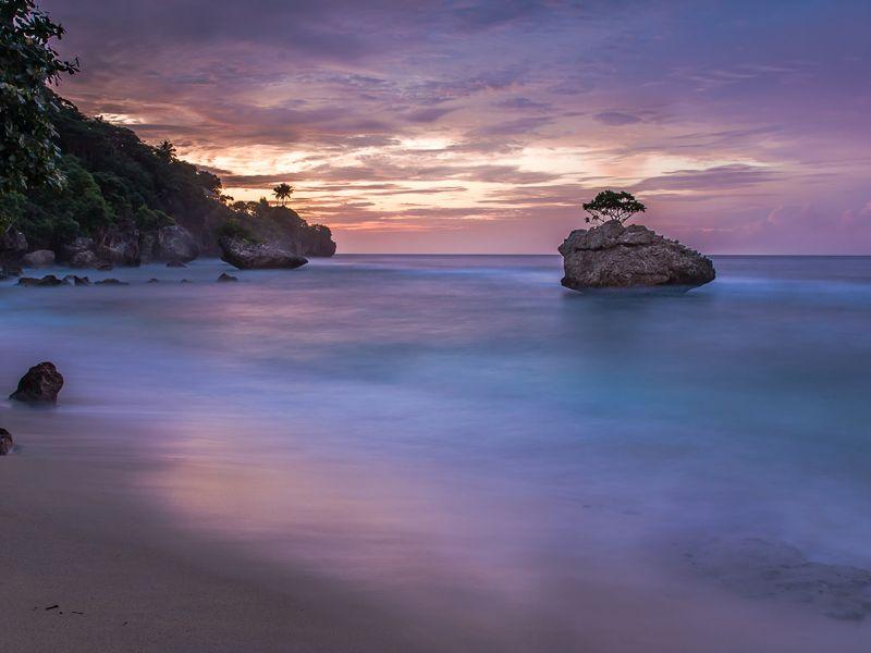 Christmas Island sunset